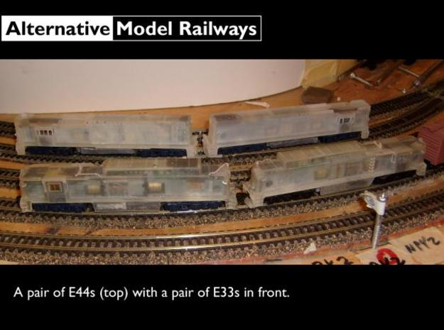 NE4403 N scale E44 loco - 4426-4459 as built 3d printed