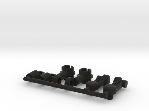 Acroyear Replacement Arms (Dart Arms) in Black Natural Versatile Plastic