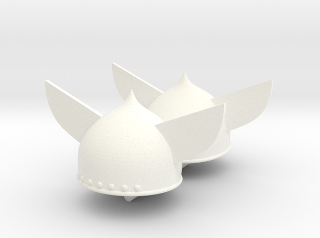 GAUL HELMET #11 x2 in White Processed Versatile Plastic