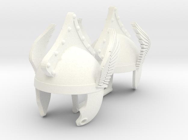 GAUL HELMET #12  in White Processed Versatile Plastic