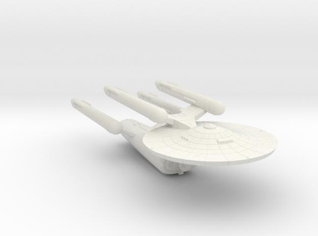 3788 Scale Federation Battleship (BB) WEM in White Natural Versatile Plastic