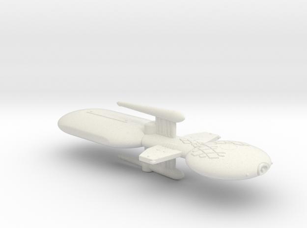 3788 Scale Gorn Brontosaurus+ Fleet Tug (1 Pod) SR in White Natural Versatile Plastic