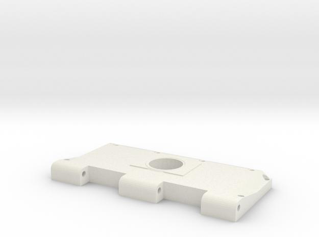 Widerlager Lüftergitter, links, offen in White Natural Versatile Plastic