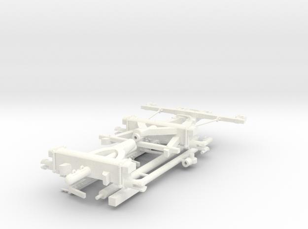 CHARIOT POUR PONTON  in White Processed Versatile Plastic