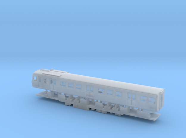 VR Hitachi M Car & Chassis - N Scale in Smooth Fine Detail Plastic