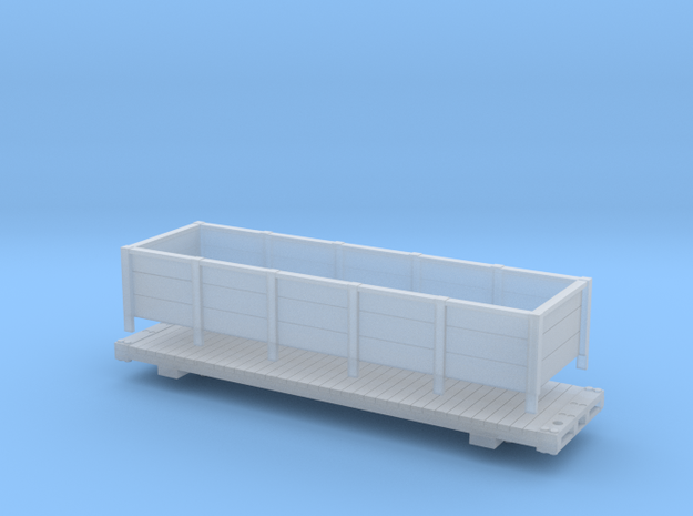 gilpin Coal Car v2 in Smooth Fine Detail Plastic