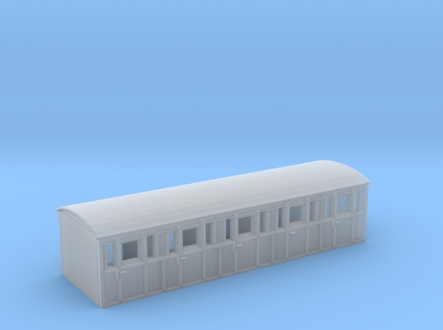 VR YH Body 15' Passenger Wagon in Smooth Fine Detail Plastic
