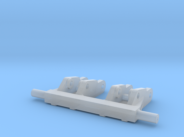 88 inch DB Planter Track Undercarriage in Smooth Fine Detail Plastic
