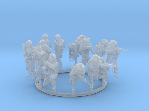 1:72 Soldiers Combat Group I (Poses 1 to 13)