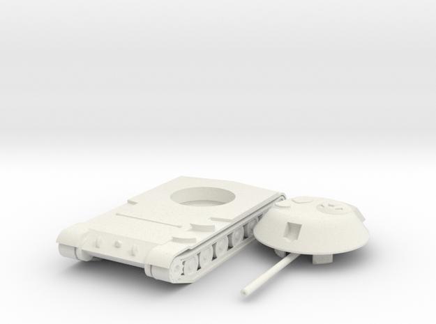 1/100 SU-100M in White Natural Versatile Plastic