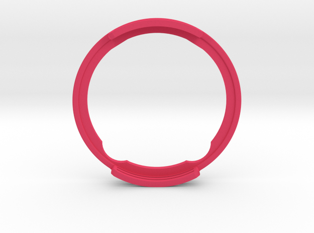 GyroPod - The Omnipod SHIELD (only SIDE B) in Pink Processed Versatile Plastic