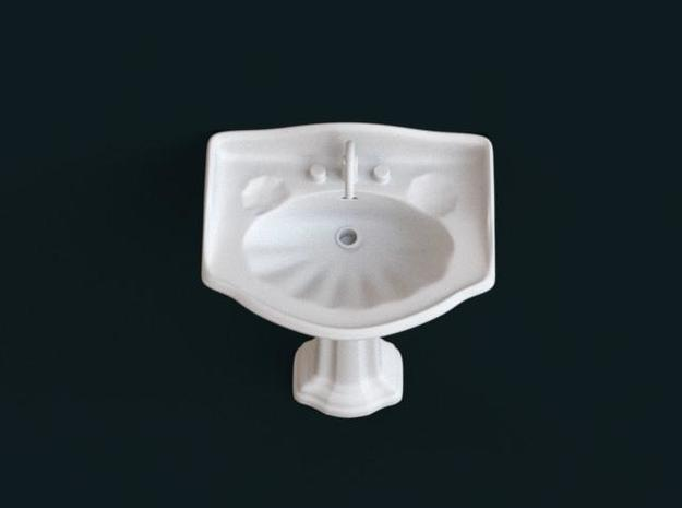 1:39 Scale Model - Sink 02 3d printed
