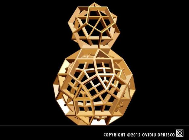 Polyhedral Sculpture #31 3d printed