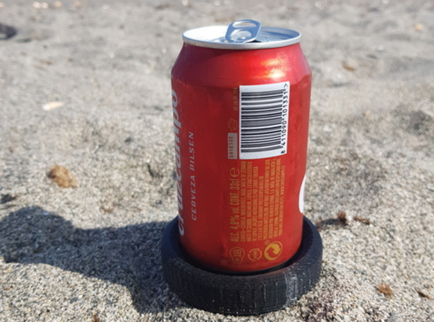 Cans holder for the beach in White Natural Versatile Plastic
