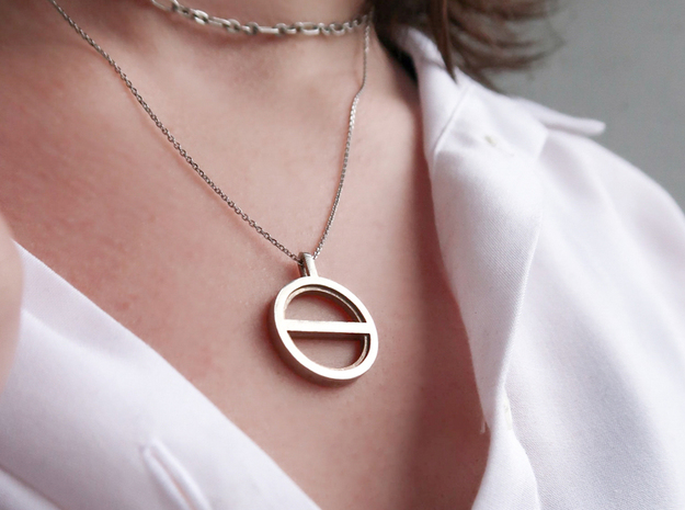 Balance - Silver in Natural Silver: Small