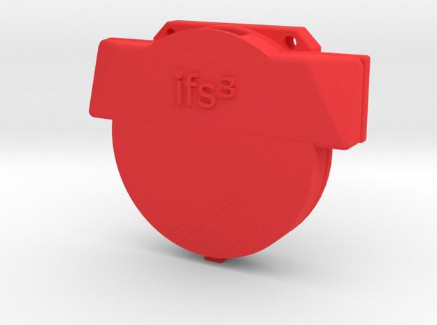 12009R0 TrackR Belt Clip in Red Processed Versatile Plastic