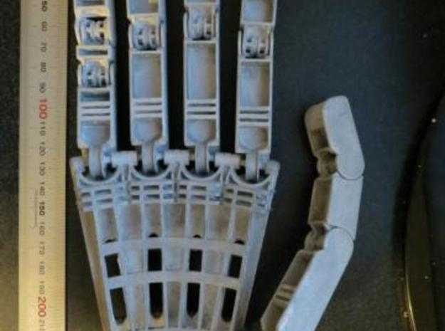 Anthromod Mk 2 Right Hand in White Natural Versatile Plastic