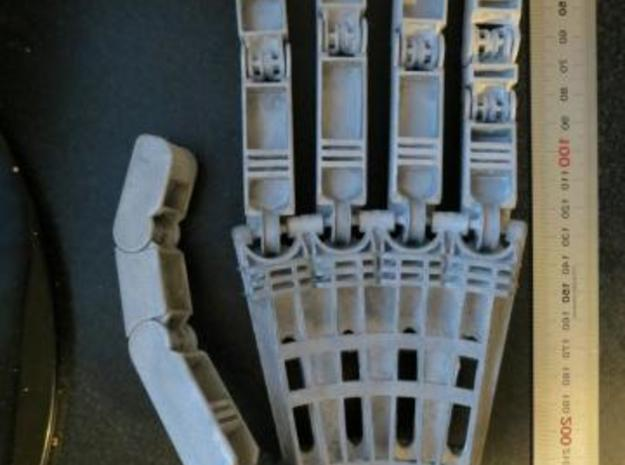Anthromod Mk 2 Left Hand in White Natural Versatile Plastic