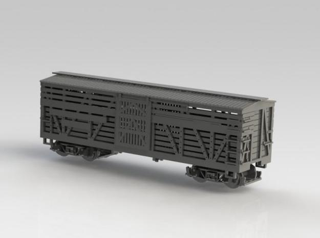 Nn3 Stock car, DRGW 4-pack 1 3d printed