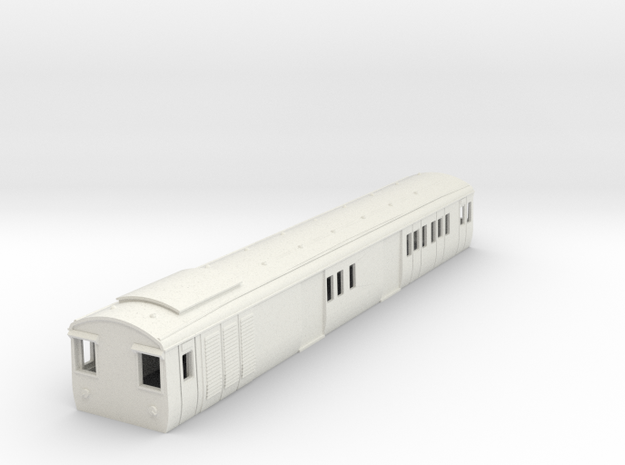 o-101-gec-baggage-57ft-coach-1 in White Natural Versatile Plastic