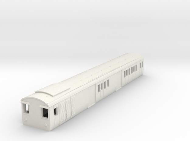 o-148-gec-baggage-59ft-coach-1 in White Natural Versatile Plastic