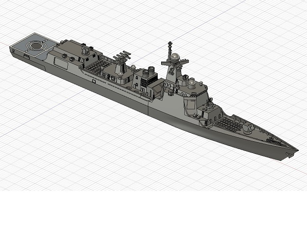 1/1250 CNS Kunming  in Smooth Fine Detail Plastic