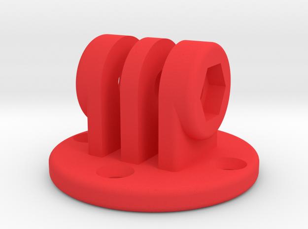 12011R0 Round Mount Screws in Red Processed Versatile Plastic
