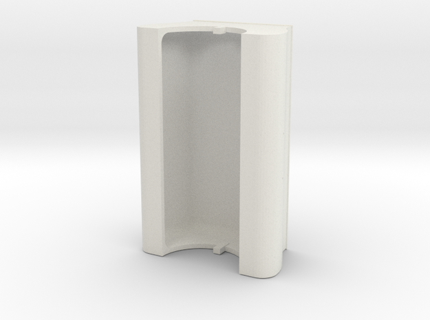 Gauge 3 Neilson tank in White Natural Versatile Plastic