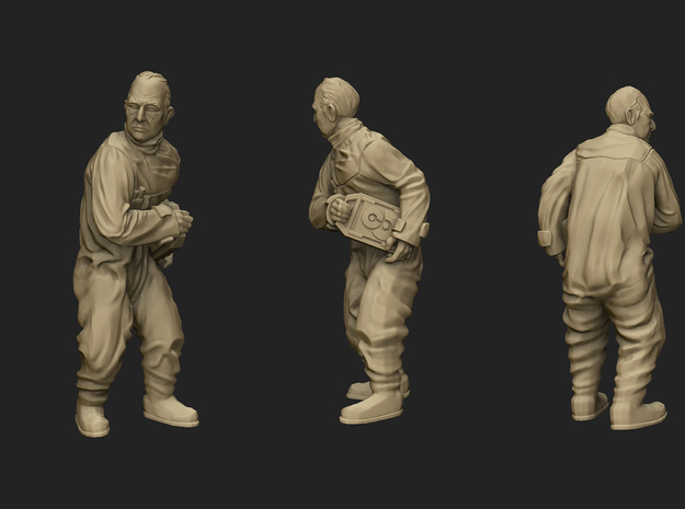 Escaped Scientist Objective Marker in Smoothest Fine Detail Plastic