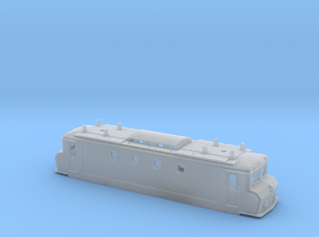 NS 1100 Botsneus schroefloze montage in Smoothest Fine Detail Plastic
