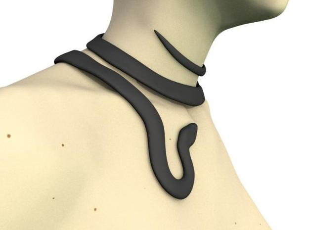 Serpent Choker 3d printed