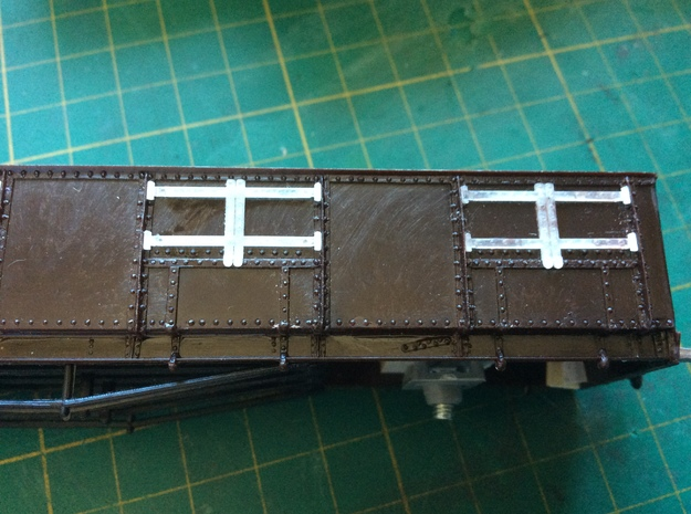 GWR Bogie Coal Wagon Details in Smooth Fine Detail Plastic