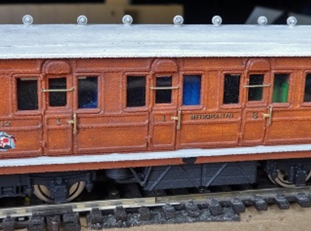 Metropolitan Railway (Composite body) 412, OO