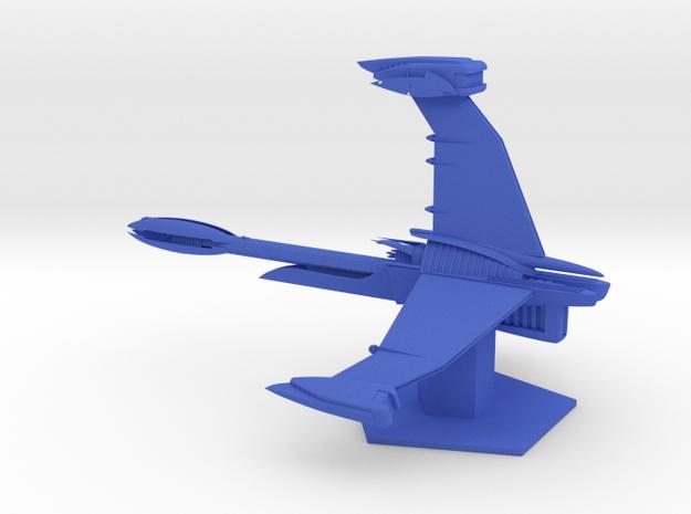Interstellar Alliance- Excalibur (6.782 x / 4.464  in Blue Processed Versatile Plastic