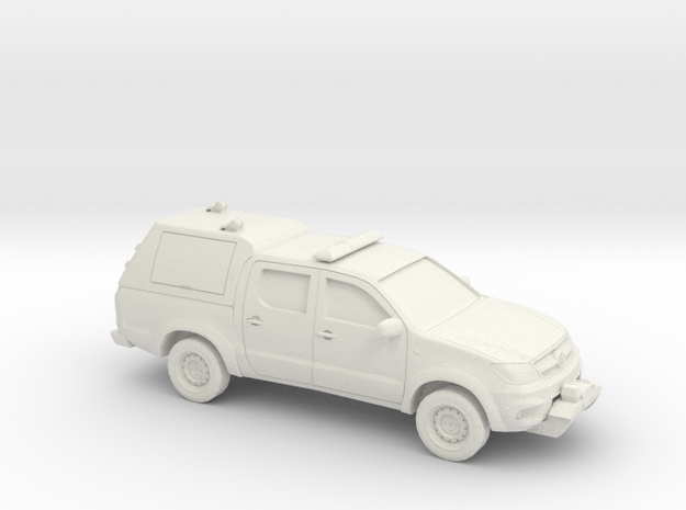 1/72 2005-15 Toyota Hilux Royal Airforce Mountain  in White Natural Versatile Plastic