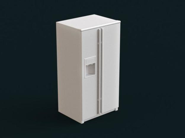 1:39 Scale Model - Refrigerator 05 in White Natural Versatile Plastic