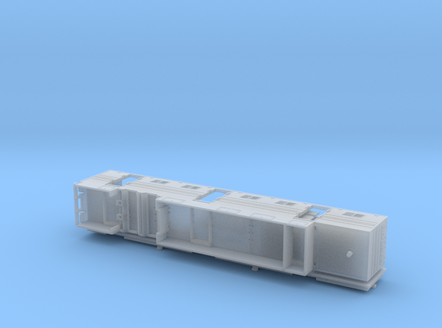 HO 1/87 Horsebox 59' Semi 02 in Smooth Fine Detail Plastic