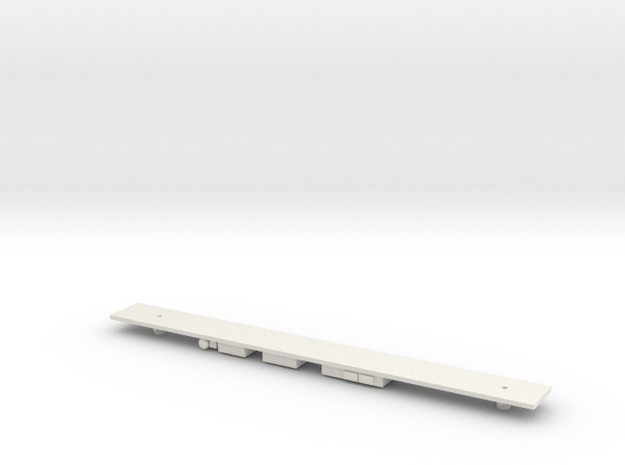 380 PTOSL(W) Chassis N Gauge in White Natural Versatile Plastic