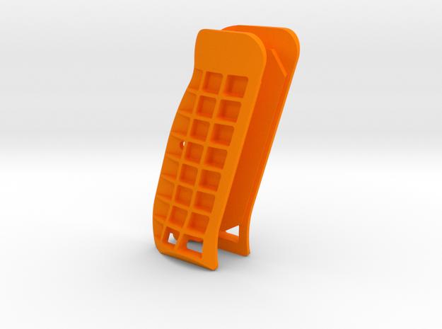CZ Palm Style Cutaway Grips in Orange Processed Versatile Plastic