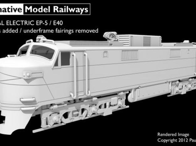 NEP504 N scale EP-5 loco - modified + guides