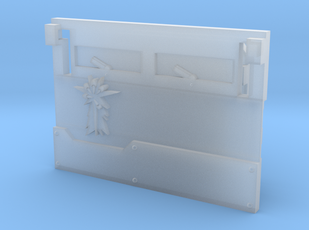 """Star Claws """"Metal Box APC"""" front panel in Smooth Fine Detail Plastic"""