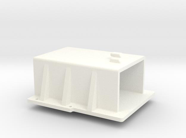 1/24 Rammunition Batterycase in White Processed Versatile Plastic