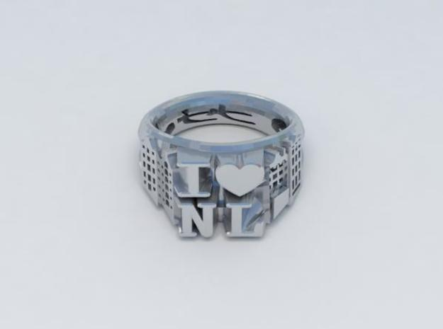 I Love Holland Ring D18 3d printed