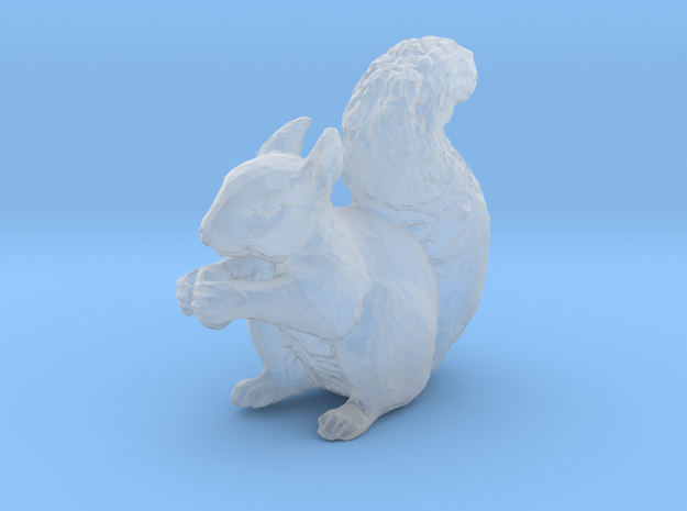 Squirrel miniature 2 in high detail in Smooth Fine Detail Plastic