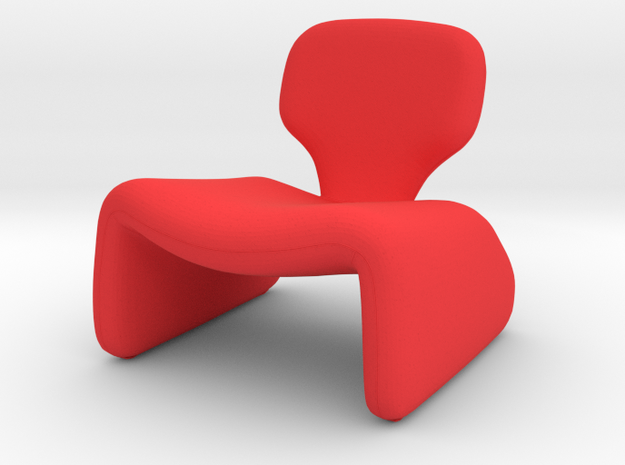 1 Tiny Djinn in Red Processed Versatile Plastic