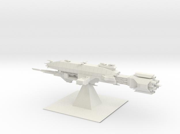 Earth Alliance - Warlock (6.616 x / 2.862 y / 2.10 in White Natural Versatile Plastic