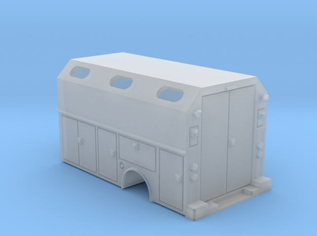 MOW Service Box Bed With Windows 1-87 HO Scale