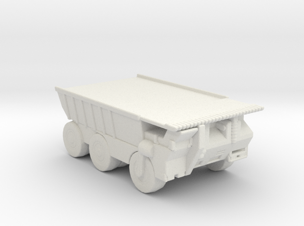 Hell Truck v1 285 scale in White Natural Versatile Plastic