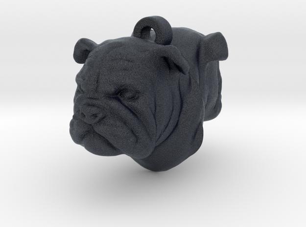 Bulldog Back-To-Back Earring in Black PA12