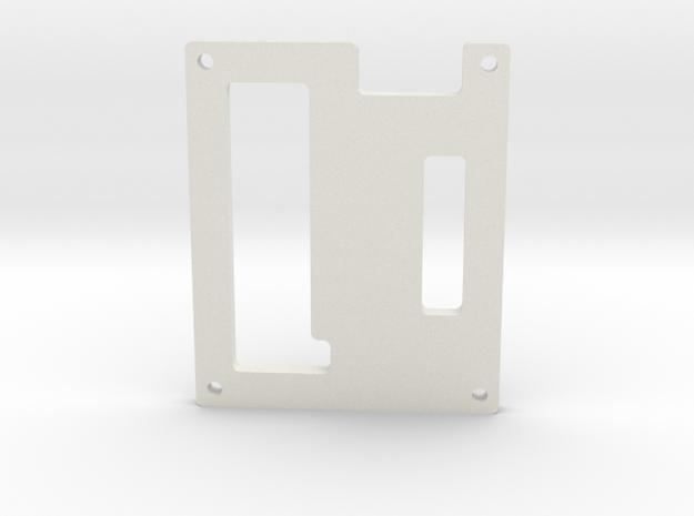 12_ChanServo_ControllerEnclosure_Cover.ipt in White Natural Versatile Plastic